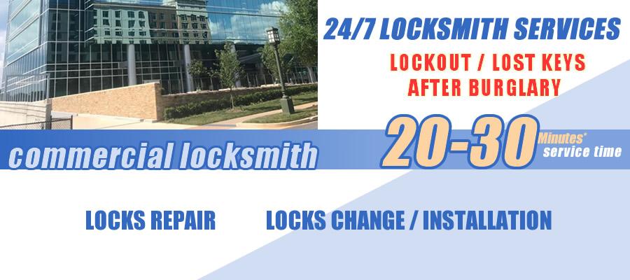 Commercial locksmith Tucker