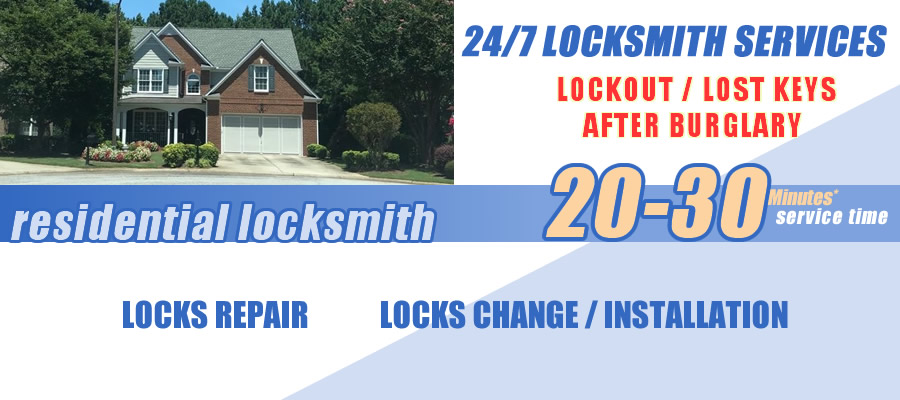 Residential locksmith Tucker